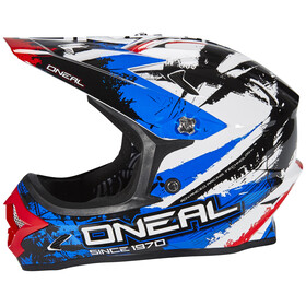 ONeal Backflip Fidlock Helmet RL2 shocker (black/red/blue)